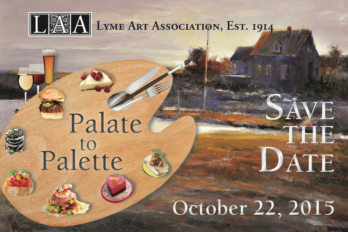 Palate to Palette Save the Date