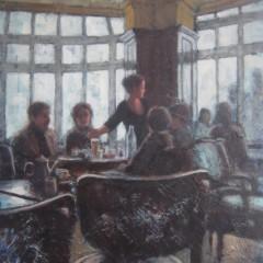 Lucas_Sarah-Stifler_Parisian-Cafe_14x11_oil_2000