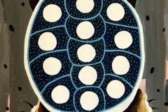 Soctomah-II-James.Ewikuwossit-sanku-psonhuse-MOTHER-TURTLE-OF-THE-THIRTEEN-MOONS-Signed-Original-Acrylic