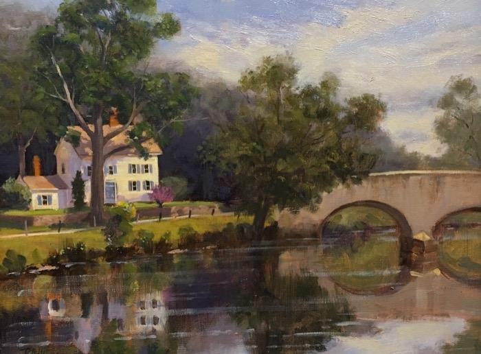 Adkins Hamburg Bridge - Lyme oil