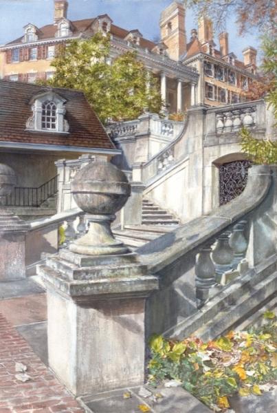 Bechtel Memories of Infinitude watercolor
