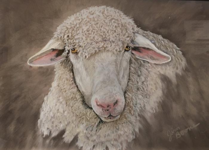 Boone Sheepish pastel 400