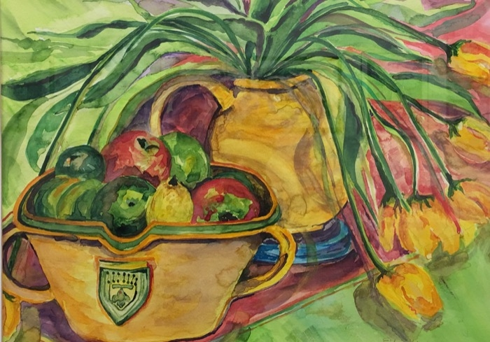 Kenny Tex-Mex watercolor
