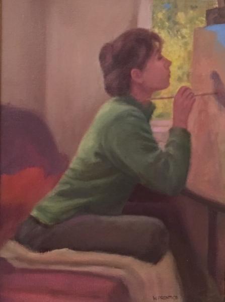 Pentice Jan Painting oil