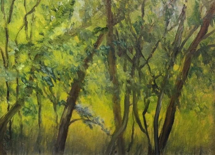 Ridgeway-Korsemeyer Spring Morning oil 375