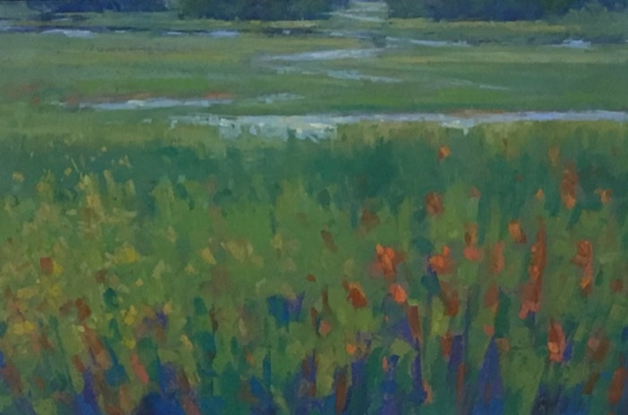 Rogers Cattails and Tidal Stream