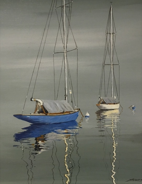 Sabol West Harbor acrylic