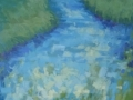 Rogers Meandering Stream Early Summer pastel