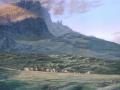 Swec Remote Village acrylic