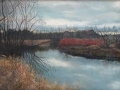 Trapp Autumn Reflections pastel