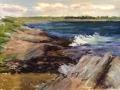 Traskos Rocky Coast pastel