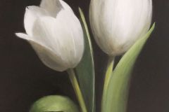 Baldino_Patt_Two-Tulips_oil_10x8_975