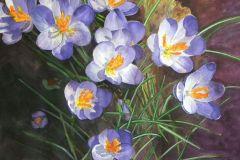 Boisvert-DeStefanis_Linda_Spring-Awakening_watercolor_16x19_1150