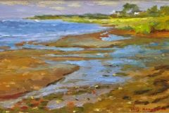 Hanson_Bill_LOW-TIDE_oil-on-panel_5.25x8.25_450