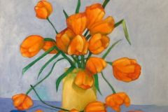 Miklojcik_Joseph_OrangeTulips_oil_40x30_800
