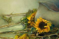 Molnar_Stephanie_Sunflowers-in-Waiting_oil_12x24_1265