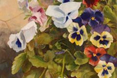 Scoble_Kimberley_Patio-Pansies_oil_16x12_750