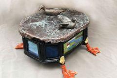 Soares_Joseph_Upon-The-Water_bronze-sculpture_622x622x722_1075
