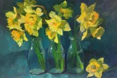 """oil painting by Rosemary Webber; 12 x 16"""" on linen panel; 16 x 20 framed $565"""