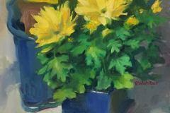 oil painting by Rosemary Webber 12 x 16; 16 x 20 framed $565