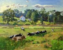 Thomas Adkins, Hot and Humid, oil, 11x14, $1,400