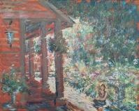 """Alexander Anisimov, """"Morning Light"""", oil, 16x20, $599"""
