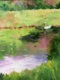 "Phyllis Bevington, ""Serenity"", oil, 12x9, $450"