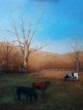"Jack Broderick, ""Josuha's Tree"", oil, 24x18, $3,200"