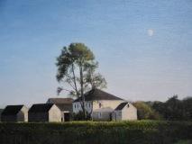 "John Canale, ""Buttonwood farm"", oil, 16x20, $1,200"