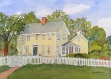 "Joan Carew, ""Main Attraction"", watercolor, 11x14, $250"