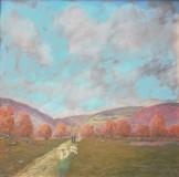 "Michael Greene, ""The Young Shepard"", acrylic, 24x24, $800"