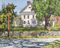 "Jim Laurino, ""Wheaton Homestead"", oil, 16x20, $2,100"