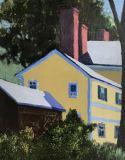 "Joan McPherson, ""Miss Florence's Chimney"", acrylic, 11.5x8.5, $300"