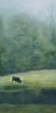 """Josette Millar, """"Morning Mist"""", oil, 24x12, $1,350"""