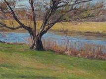 """Jack Montmeat, """"Along the Lieutenant"""", oil, 18x24, $3,200"""