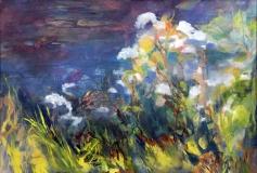 """Linda Peduzzi, """"Profusion"""", oil, 24x36, $2,550"""