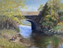 "Liane Philpotts, ""Artistic Viewpoint"", oil, 9x12, $375"