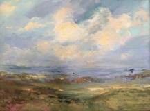 """Karen Ponelli, """"Natures Impressions"""", oil, 30x40, $3,000"""