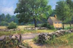 "Beverly Schirmeier, ""Grassy Hill Meadows"", pastel, 12x16, $750"