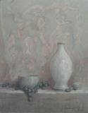 """Matthew Schwager, """"Mediterranean Still Life"""", pastel, 21x16, $3,200"""