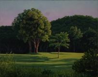 """Shawn Sullivan, """"Long Shadows"""", oil, 11x14, $1,000"""