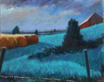 """Diana Suttenfield, """"Nocturne"""", acrylic, 24x30, $1,200"""