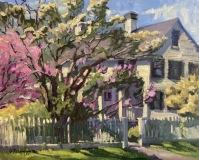 """Susan Termyn, """"Spring, Old Lyme"""", oil, 16x20, $2,400"""