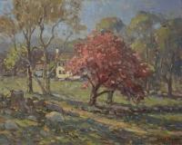 "John Traynor, ""Spring in Lyme, CT"", oil, 24x30, $18,000"