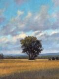"David Vosburgh, ""View Off Rt. 7"", oil, 9x12, $750"