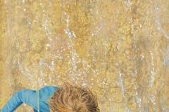 "Len Swec, ""Little Wave Rider"", acrylic, 16x12, $1,400"