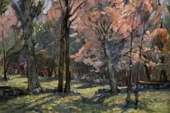 "Susan Termyn, ""Wild Cherry"", oil, 20x24, $2,800"