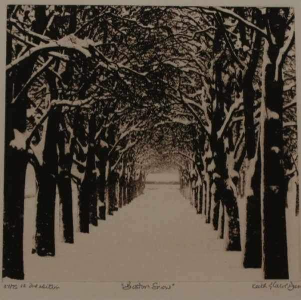 Dunn Boston Snow photopolymer etching
