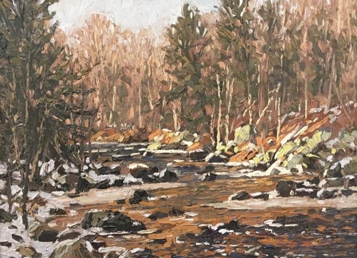 Laurino Farmington River Dec oil