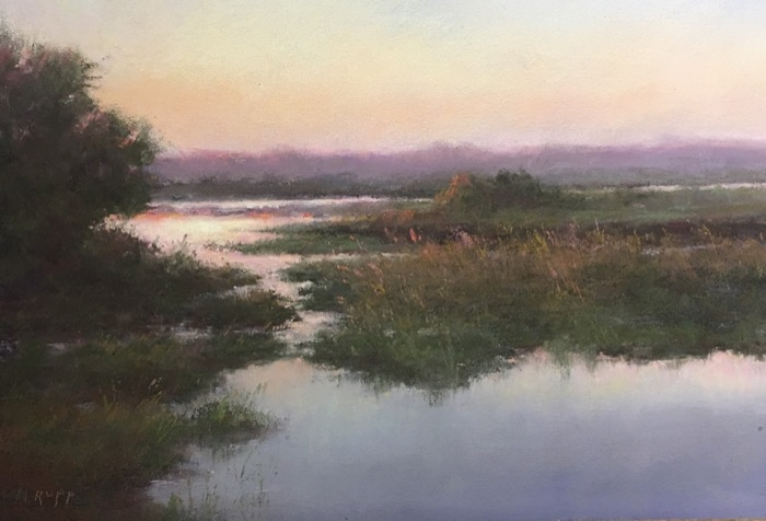 Rupp End of Day pastel